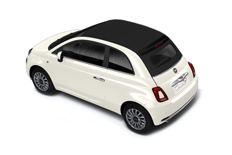 Fiat 500 C Convertible 1.0 MHEV 70PS Launch Edition 2Dr Manual [Start Stop] back view