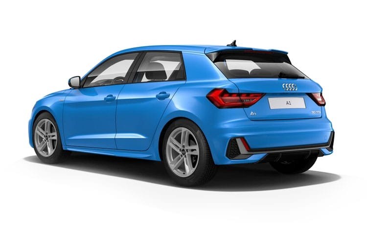 Audi A1 25 Sportback 5Dr 1.0 TFSI 95PS S line 5Dr S Tronic [Start Stop] [Technology] back view