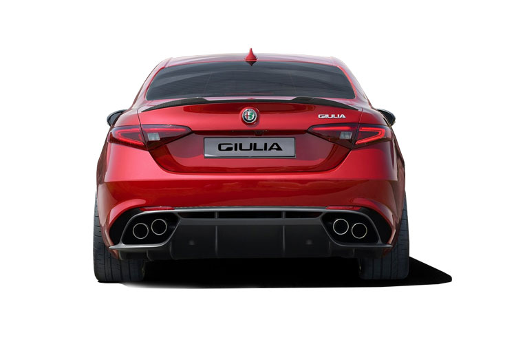 Alfa Romeo Giulia Saloon 2.2 TD 160PS Super 4Dr Auto [Start Stop] [Driver Assistance Plus] back view