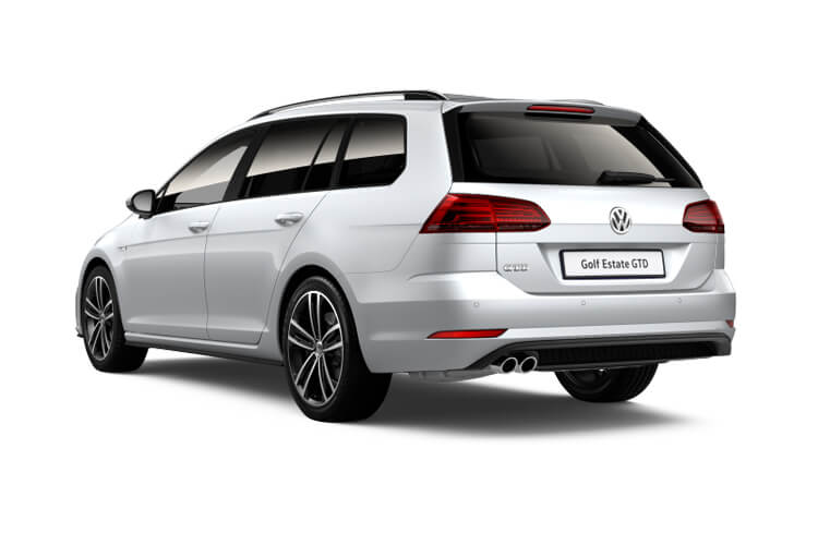 Volkswagen Golf Estate 2.0 TDI 115PS Style 5Dr Manual [Start Stop] [Discover Nav Pro] back view