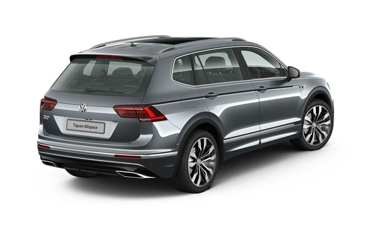 Volkswagen Tiguan Allspace SUV 4Motion 2.0 TSI 190PS R-Line Tech 5Dr DSG [Start Stop] back view