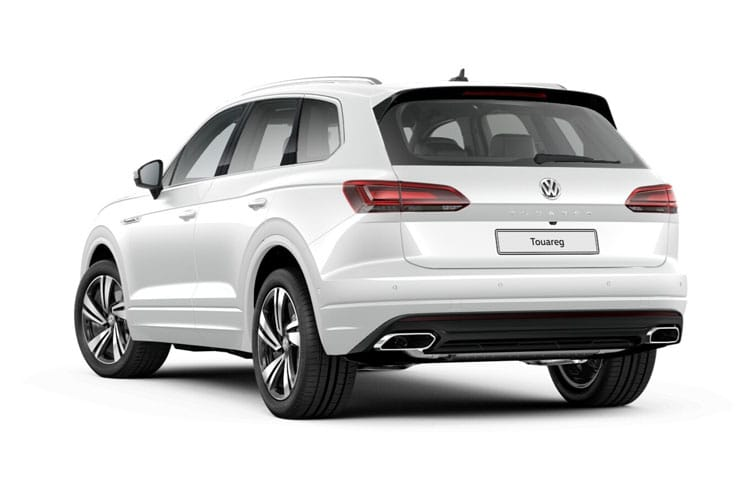 Volkswagen Touareg SUV 4Motion 3.0 V6 TDI 231PS R-Line Tech 5Dr Tiptronic [Start Stop] back view