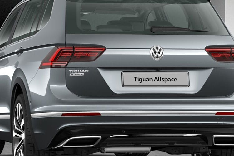Volkswagen Tiguan Allspace SUV 4Motion 2.0 TSI 190PS R-Line Tech 5Dr DSG [Start Stop] detail view