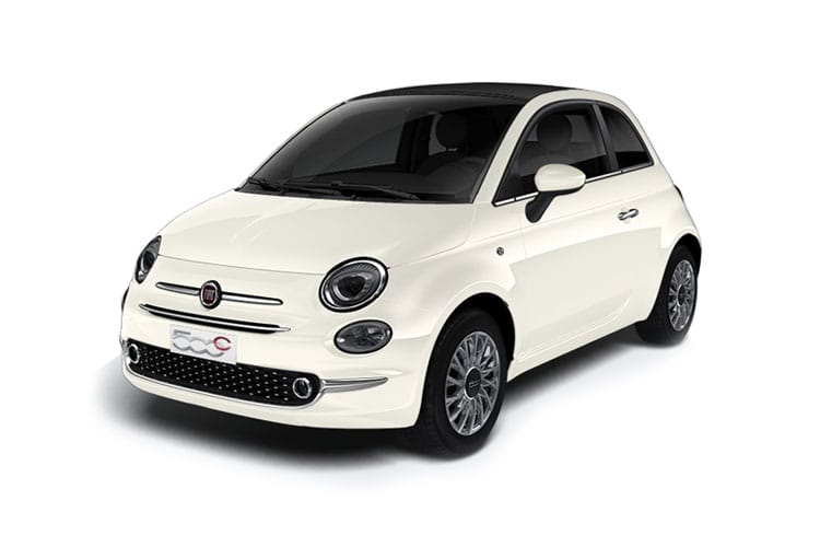 Fiat 500 C Convertible 1.0 MHEV 70PS Launch Edition 2Dr Manual [Start Stop] front view