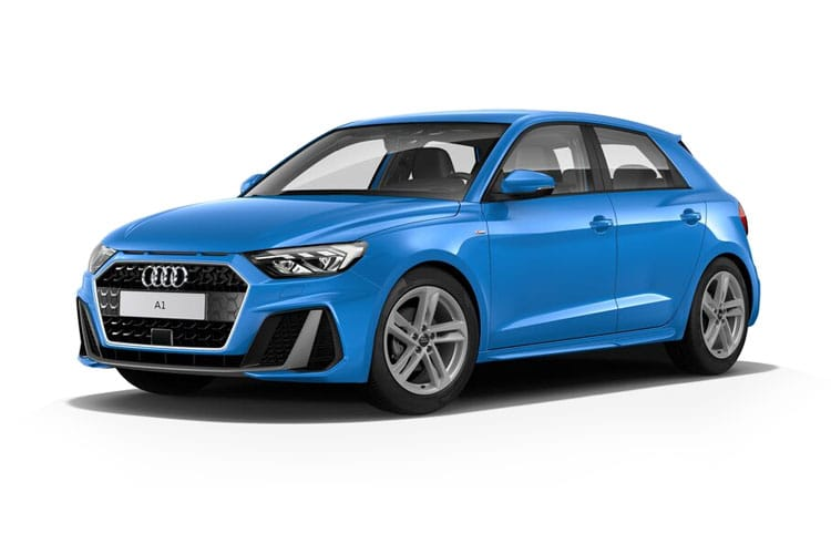 Audi A1 25 Sportback 5Dr 1.0 TFSI 95PS S line 5Dr S Tronic [Start Stop] front view