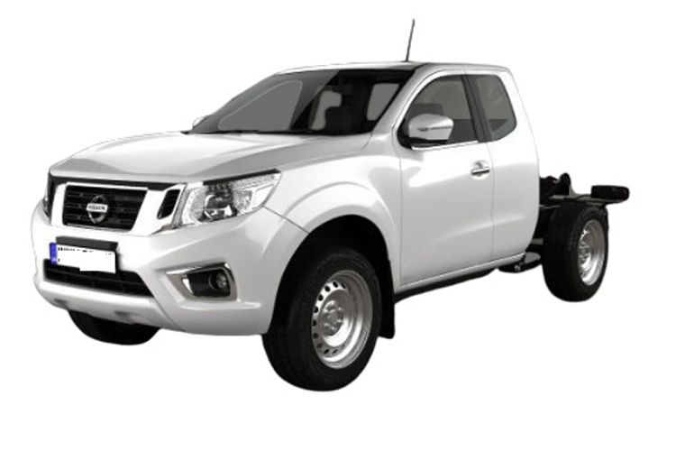 Nissan Navara Chassis Double Cab 4wdS 2.3 dCi 4WS 163PS Visia Chassis Double Cab Manual [Start Stop] front view