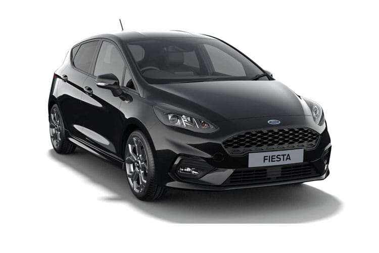 Ford Fiesta Hatch 5Dr 1.0 T EcoBoost MHEV 155PS ST-Line X Edition 5Dr Manual [Start Stop] front view