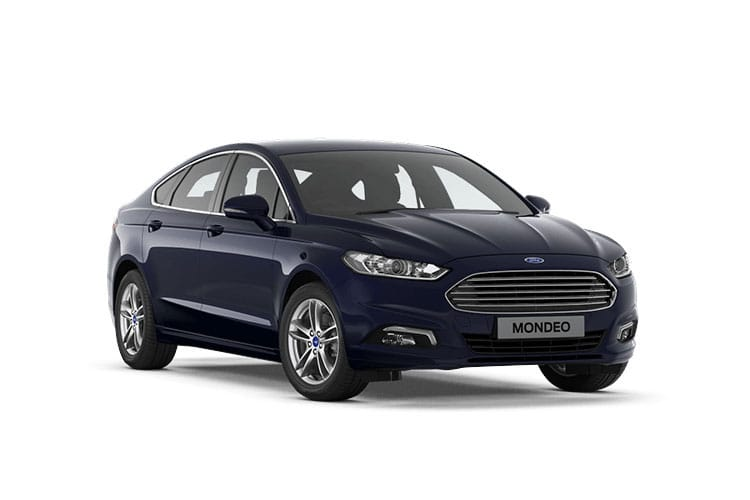 Ford Mondeo Saloon 2.0 TiVCT HEV 187PS Zetec Edition 4Dr CVT [Start Stop] front view