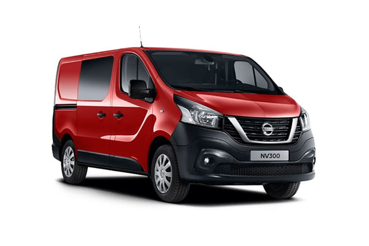 Nissan NV300 L2 30 2.0 dCi FWD 120PS Acenta Crew Van Manual front view