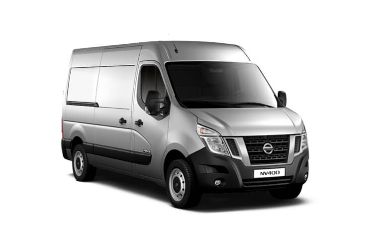 Nissan NV400 L2 35 FWD 2.3 dCi FWD 180PS Acenta Van High Roof Auto [Start Stop] front view