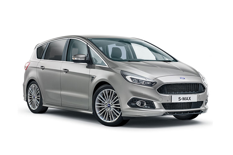 Ford S-MAX MPV 2.0 EcoBlue 150PS Titanium 5Dr Manual [Start Stop] front view