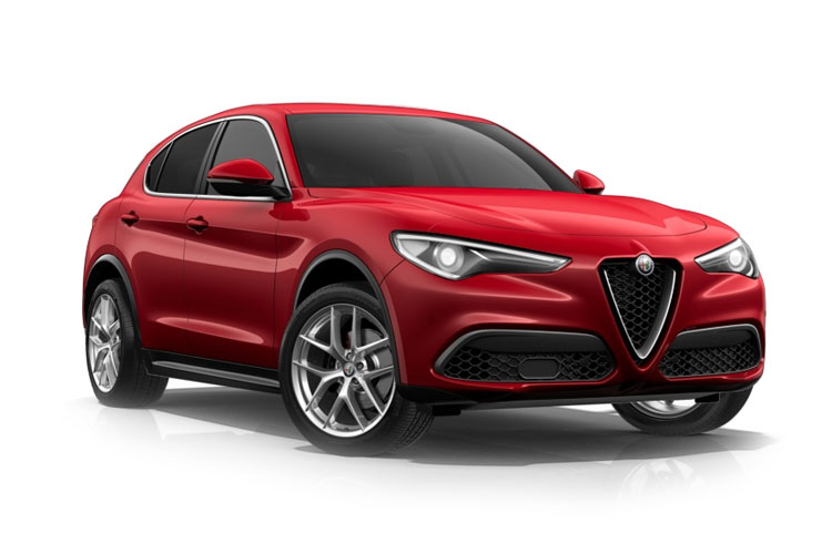 Alfa Romeo Stelvio SUV Q4 AWD 2.2 TD 190PS Lusso Ti 5Dr Auto [Start Stop] [Driver Assistance Plus] front view