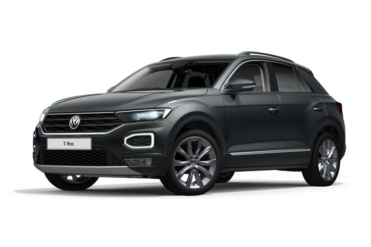 Volkswagen T-Roc SUV 2wd 1.5 TSI EVO 150PS Black Edition 5Dr Manual [Start Stop] front view