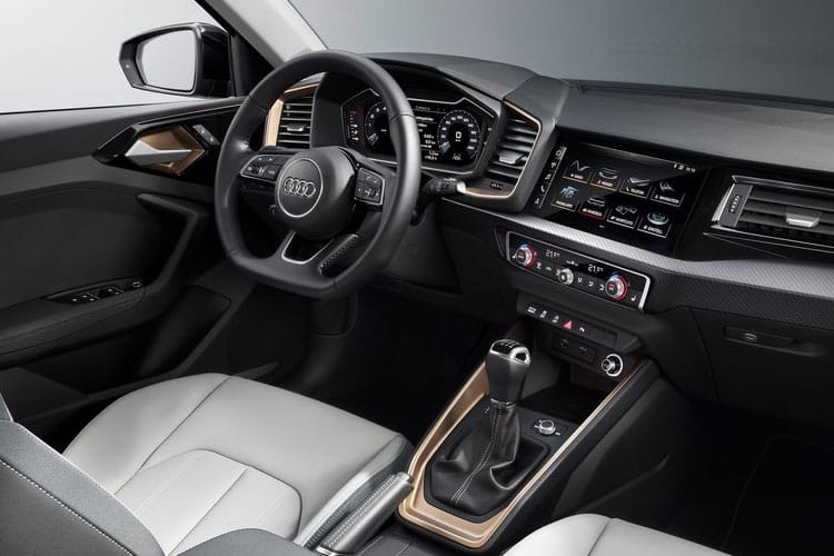 Audi A1 25 Sportback 5Dr 1.0 TFSI 95PS S line 5Dr S Tronic [Start Stop] [Technology] inside view