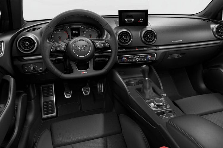 Audi A3 35 Saloon 4Dr 2.0 TDI 150PS Sport 4Dr S Tronic [Start Stop] [Comfort Sound] inside view