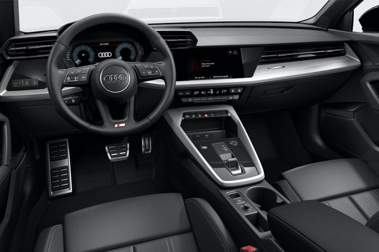 Audi A3 30 Sportback 5Dr 2.0 TDI 116PS Sport 5Dr S Tronic [Start Stop] [Comfort Sound] inside view