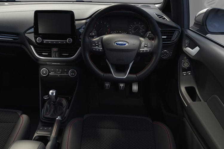 Ford Fiesta Hatch 5Dr 1.0 T EcoBoost MHEV 155PS ST-Line X Edition 5Dr Manual [Start Stop] inside view