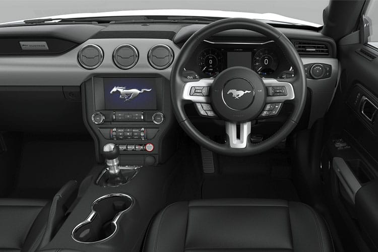 Ford Mustang Convertible 5.0 V8 450PS GT 2Dr Manual inside view