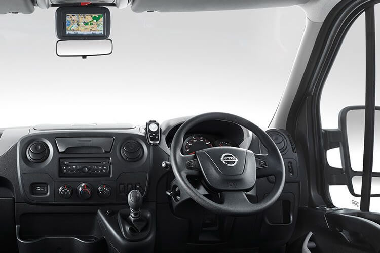 Nissan NV400 L2 35 FWD 2.3 dCi FWD 180PS Acenta Van High Roof Auto [Start Stop] inside view