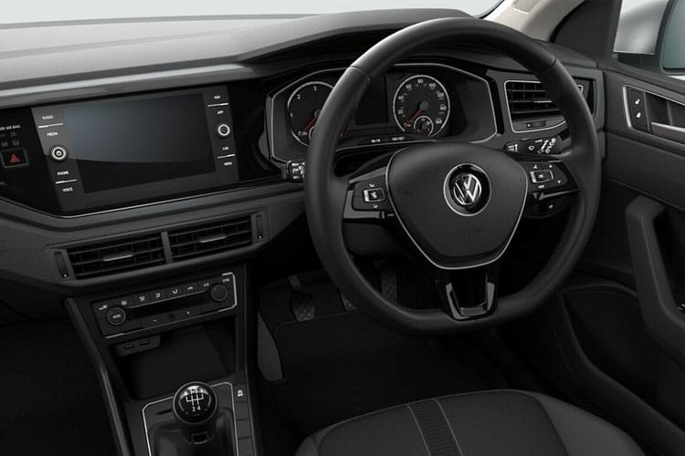 Volkswagen Polo Hatch 5Dr 2.0 TSI 210PS GTi 5Dr DSG [Start Stop] inside view