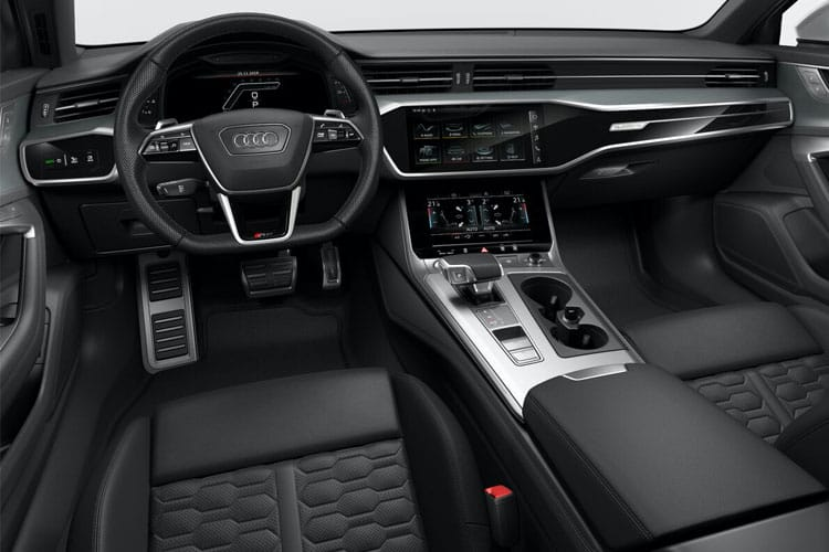 Audi A6 40 Avant 2.0 TDI 204PS Black Edition 5Dr S Tronic [Start Stop] inside view