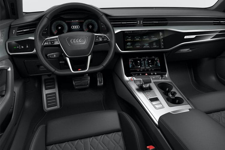 Audi A6 50 Saloon quattro 3.0 TDI V6 286PS S line 4Dr Tiptronic [Start Stop] [Technology] inside view