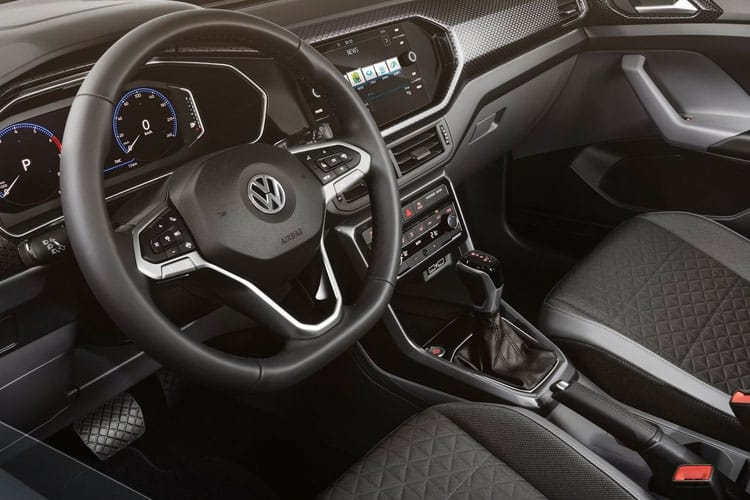 Volkswagen T-Cross SUV 1.0 TSI 115PS SEL 5Dr Manual [Start Stop] inside view