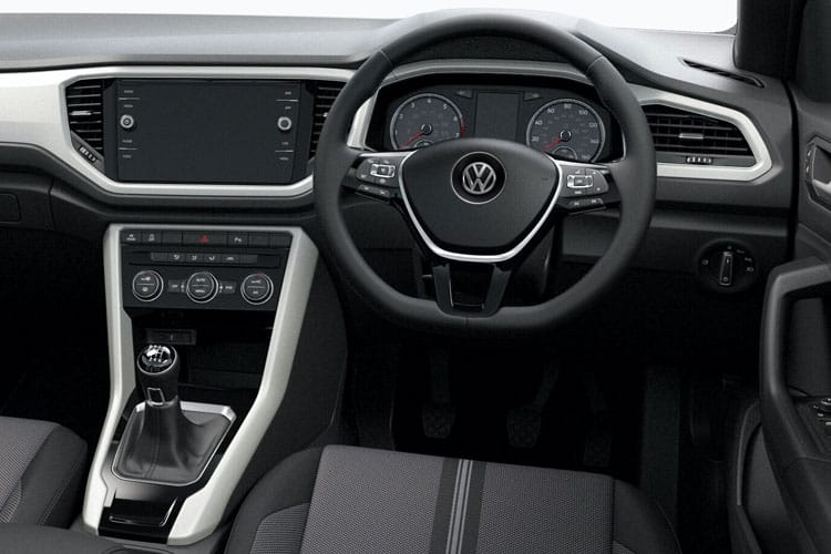 Volkswagen T-Roc Cabriolet SUV 2wd 1.5 TSI EVO 150PS R-Line 2Dr Manual [Start Stop] inside view