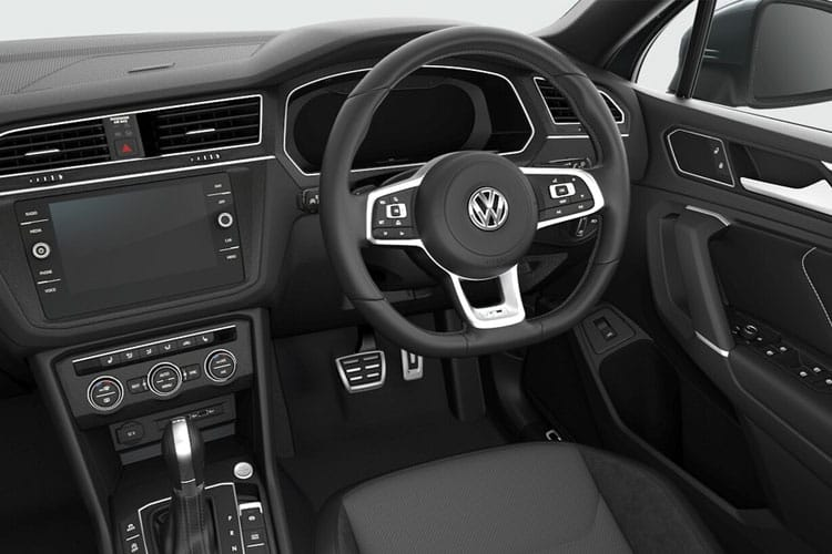 Volkswagen Tiguan Allspace SUV 4Motion 2.0 TSI 190PS R-Line Tech 5Dr DSG [Start Stop] inside view