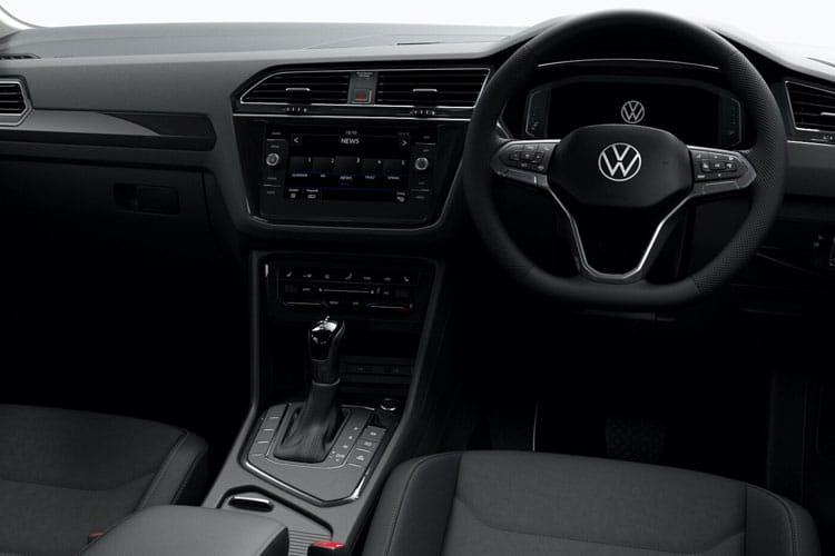 Volkswagen Tiguan SUV 4Motion SWB 2.0 TDI 150PS Match 5Dr DSG [Start Stop] inside view