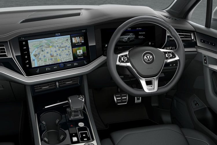 Volkswagen Touareg SUV 4Motion 3.0 V6 TDI 231PS R-Line Tech 5Dr Tiptronic [Start Stop] inside view